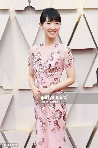 Marie Kondo attends the 91st Annual Academy Awards at Hollywood and Highland on February 24 2019 in Hollywood California