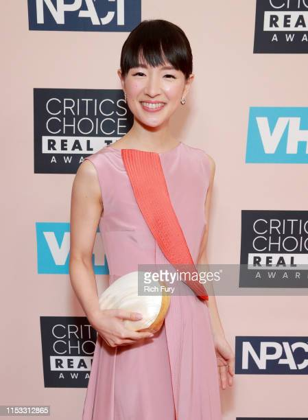 Marie Kondo attends the Critics' Choice Real TV Awards at The Beverly Hilton Hotel on June 02 2019 in Beverly Hills California