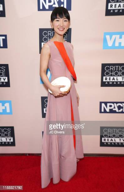 Marie Kondo attends the Critics' Choice Real TV Awards on June 02 2019 in Beverly Hills California