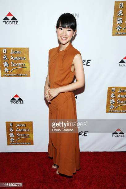 Marie Kondo attends The Japan America Society of Southern California's 110th Anniversary Dinner And Gala at Angel Stadium on July 11 2019 in Anaheim...