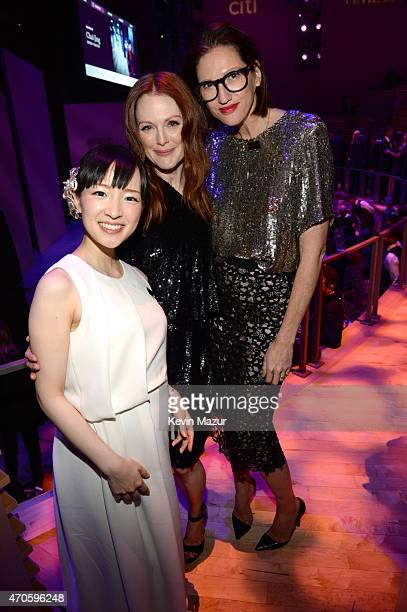 Marie Kondo Julianne Moore and Jenna Lyons attend TIME 100 Gala TIME's 100 Most Influential People In The World at Jazz at Lincoln Center on April 21...