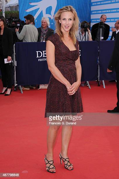 Marie Kremer arrives at the 'The Man From UNCLE' Premiere during the 41st Deauville American Film Festival on September 11 2015 in Deauville France