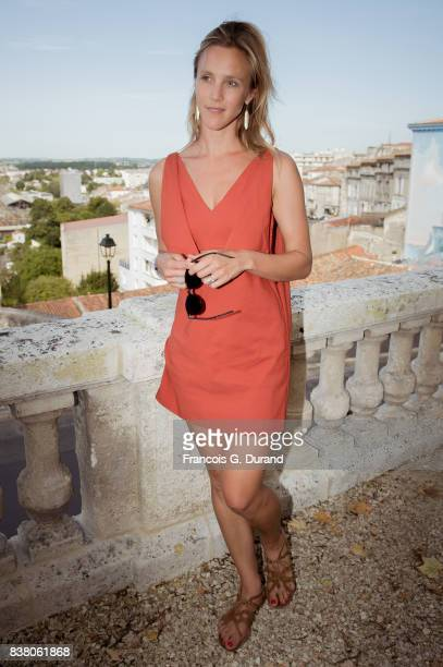 Marie Kremer attends the 10th Angouleme FrenchSpeaking Film Festival on August 23 2017 in Angouleme France