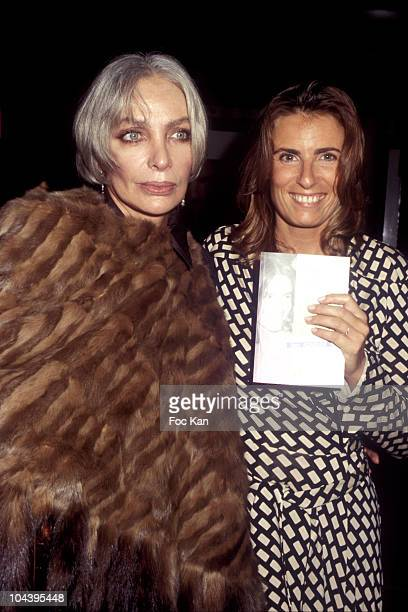 Marie Laforet and her Daughter Lisa Azuelos