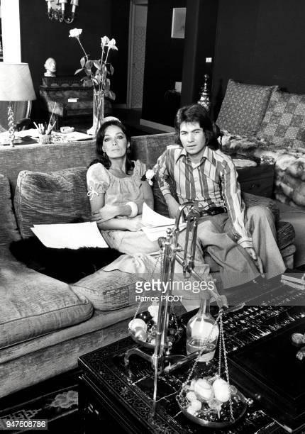 Marie Laforet et Daniel Guichard juin 1973