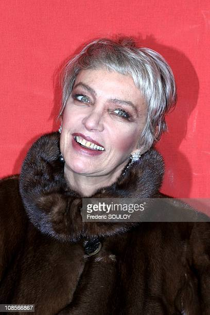 Marie Laforet in Paris France on November 29th 2004