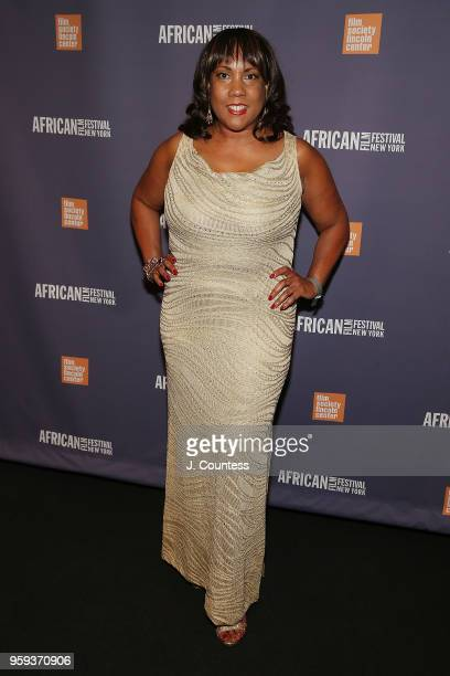 Marie Lemelle attends the opening night of the 25th African Film Festival at Walter Reade Theater on May 16 2018 in New York City