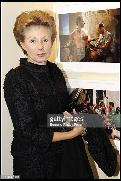 Marie Louise of Clermont Tonnerre at Exhibition Opening Of Yul Brynner's A Photographic Journey At Galerie Du Passage In Paris