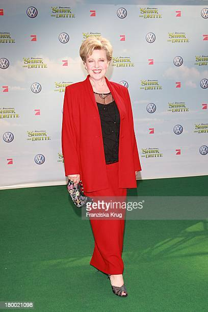 Marie Luise Marjan Bei Der Shrek Der Dritte Premiere Im Sony Center In Berlin Am 080607