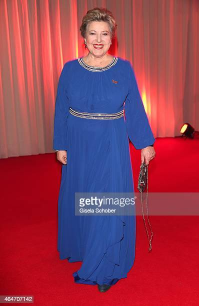 Marie Luise Marjan during the Goldene Kamera 2015 reception on February 27 2015 in Hamburg Germany