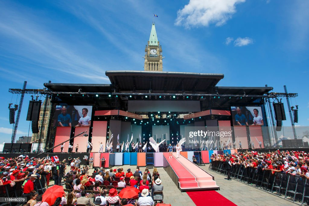 Canada Day : News Photo