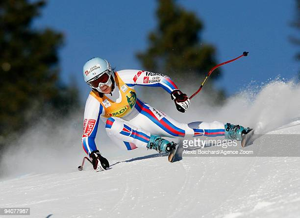 Marie MarchandArvier of France during the Audi FIS Alpine Ski World Cup Women's SuperG on December 6 2009 in Lake Louise Canada