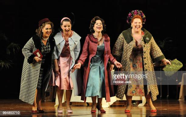 Marie McLaughlin as Meg Page Anna Prohaska as Nannetta Ana Maria Martinez as Alice Ford and MarieNicole Lemieux as Mistress Quickly in the Royal...