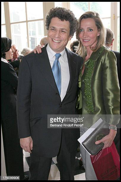 Marie Moatti and Nicolas Kugel at Book Launch Party For Venus Of Empire The Life of Pauline Bonaparte by Flora Fraser