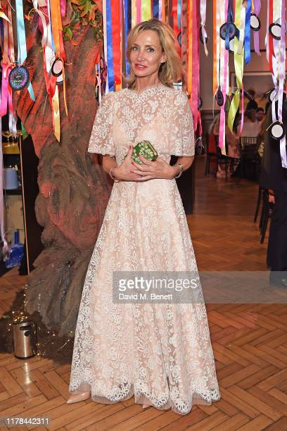 Marie Moatti attends The Art of Wishes Gala and Auction presented by the MakeAWish® UK at Royal Horticultural Halls on Tuesday 1 October 2019