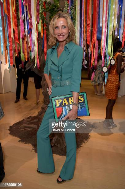 Marie Moatti attends The Art of Wishes preview and opening reception ahead of the The Art of Wishes Gala and Auction in aid of children's charity...
