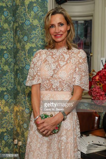 Marie Moatti attends the CLOS19 x DIMORESTUDIO party celebrating their collaboration at Marks Club on October 1 2019 in London England
