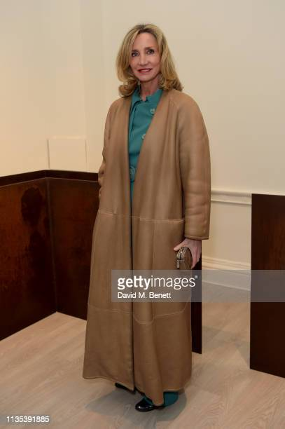 Marie Moatti attends 'Tribute To MonoHa' at the Cardi Gallery on March 12 2019 in London England
