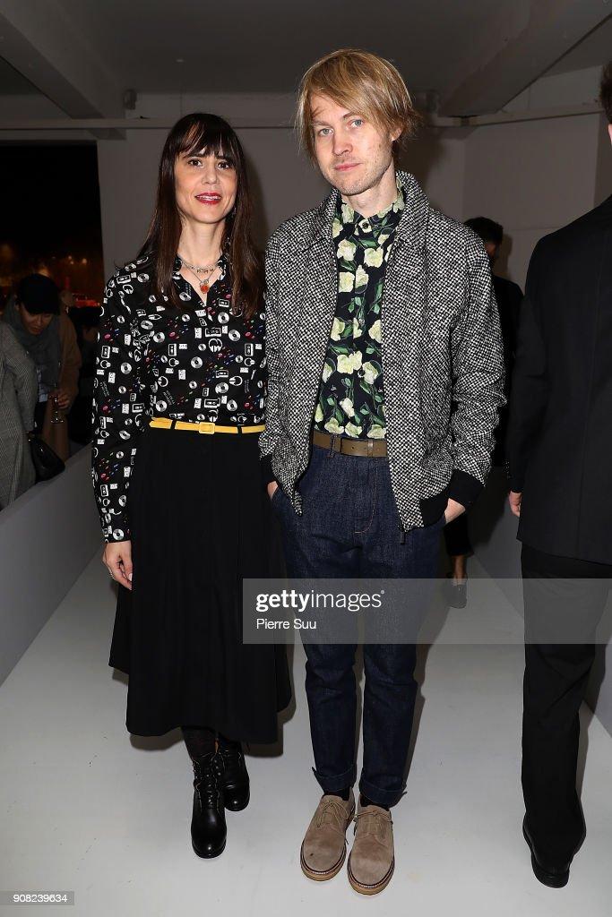 Agnes B : Front Row - Paris Fashion Week - Menswear F/W 2018-2019