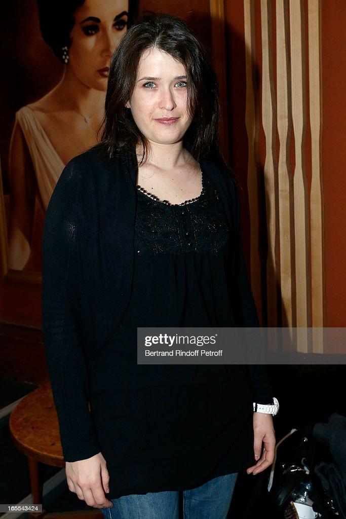 Marie Moute attends 'Mongeville TV Show : La Nuit Des Loups' Private Screening at Club 13 on April 4, 2013 in Paris, France.