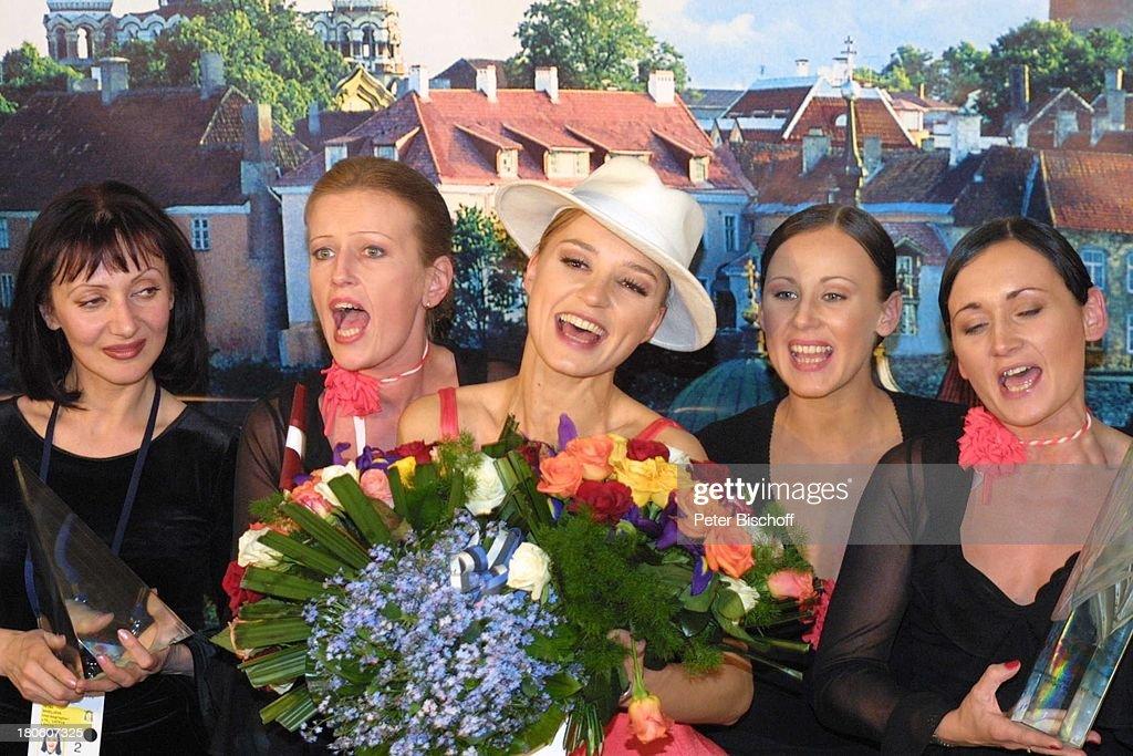 Marie N.(Litauen), (Siegerin des 'Eurovision Song Contest'-'Gra : News Photo