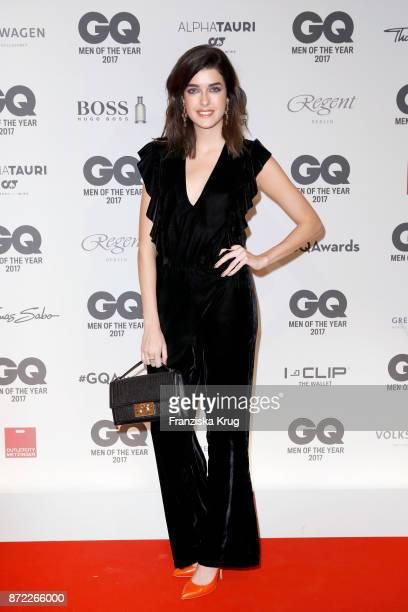 Marie Nasemann arrives for the GQ Men of the year Award 2017 at Komische Oper on November 9 2017 in Berlin Germany