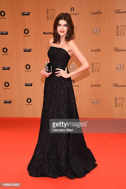 Marie Nasemann attends the Bambi Awards 2015 at Stage Theater on November 12 2015 in Berlin Germany