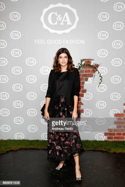 Marie Nasemann attends the CA collection preview Spring/Summer 18 on October 26 2017 in Duesseldorf Germany CA presents their latest collection in...