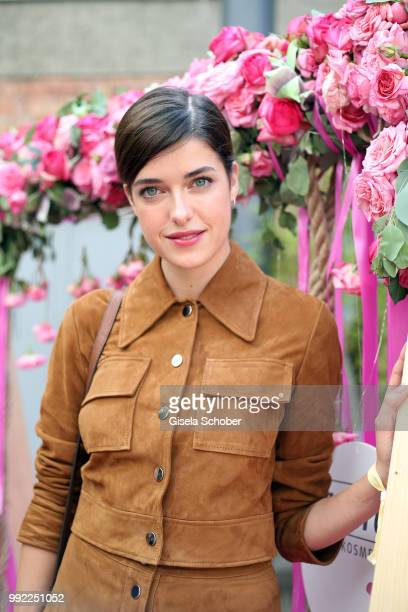 Marie Nasemann attends The Fashion Hub during the Berlin Fashion Week Spring/Summer 2019 at Ellington Hotel on July 5 2018 in Berlin Germany