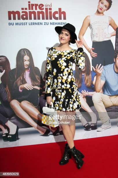 Marie Nasemann attends the premiere of the film 'Irre sind maennlich' at Mathaeser Filmpalast on April 10 2014 in Munich Germany