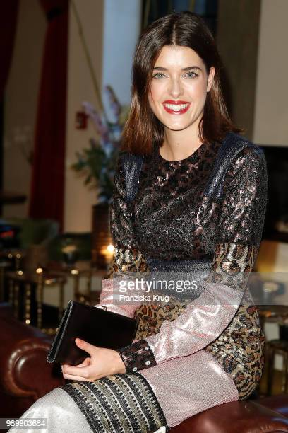Marie Nasemann during the Bunte New Faces Night at Grace Hotel Zoo on July 2 2018 in Berlin Germany