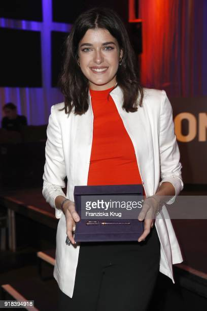Marie Nasemann during the Young ICONs Award in cooperation with ICONIST at SpindlerKlatt on February 14 2018 in Berlin Germany