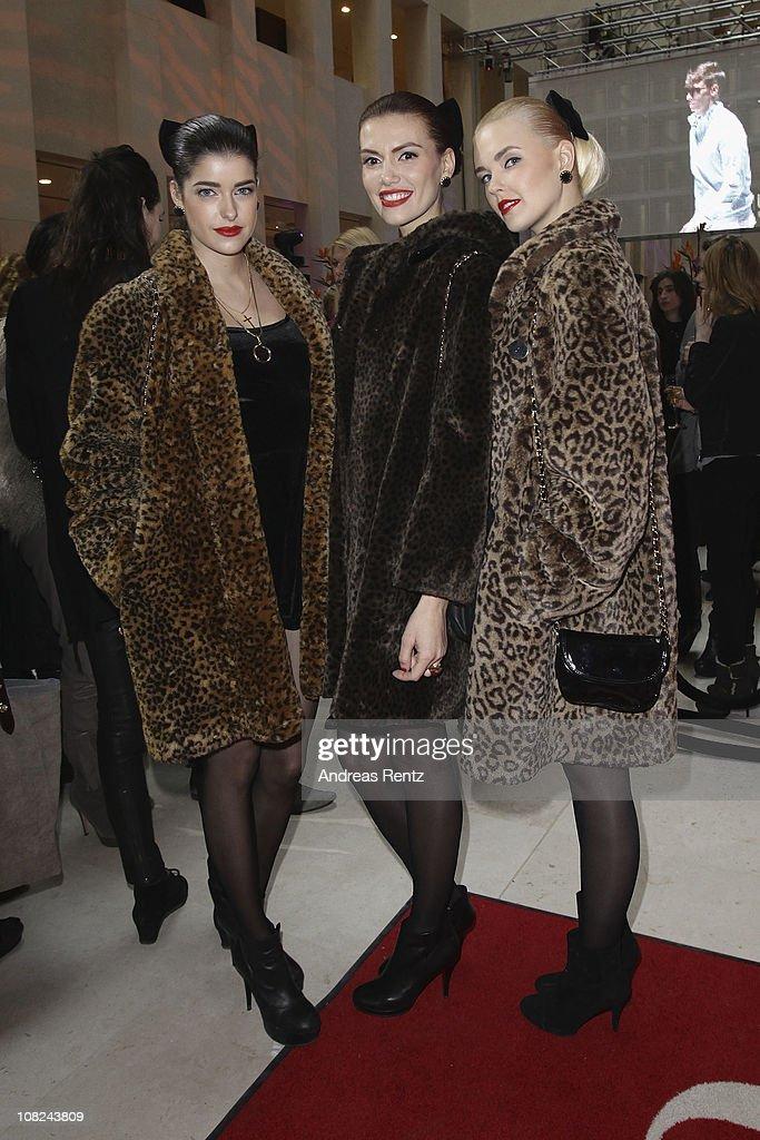 Gala Fashion Brunch - Mercedes-Benz Fashion Week Autumn/Winter 2011 : Nachrichtenfoto