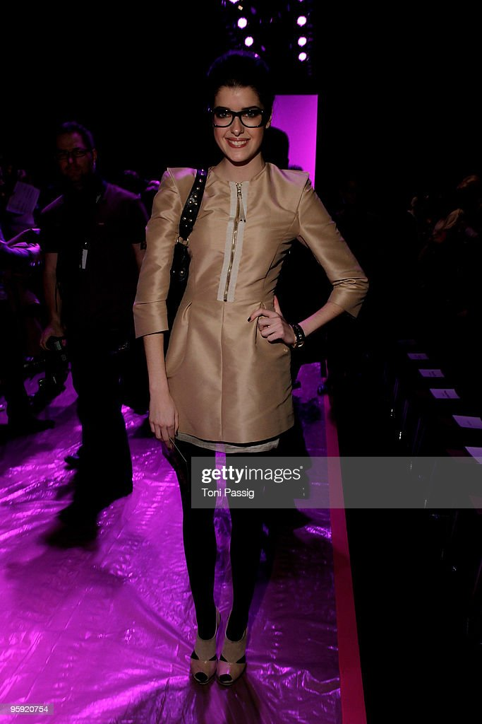 MBFW A/W 2010: Custo Barcelona Fashion Show : News Photo
