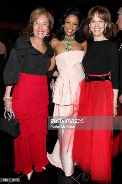 Marie Nugent Head Pamela Joyner and Candace Beineke attend THE SCHOOL OF AMERICAN BALLET Winter Ball 2010 at David H Koch Theater on March 1 2010 in...