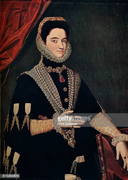 Marie of Austria - Empress of Germany, 1528-1603', 16th century, . Archduchess Maria of Austria was the spouse of Maximilian II, Holy Roman Emperor...