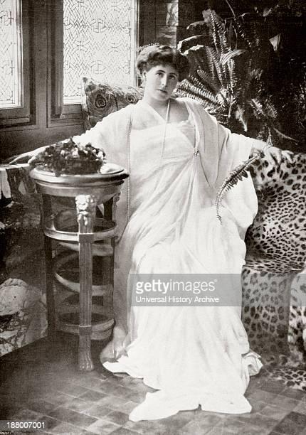 Marie Of Romania 1875– 1938. English Born Queen Consort Of Romania From 1914 To 1927, As Wife Of Ferdinand I Of Romania. From La Esfera, 1914.