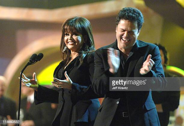 Marie Osmond and Donny Osmond perform 'A Little Bit Country'
