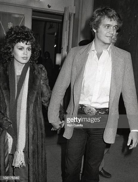 Marie Osmond and John Schneider during Lee Strasberg's Wake at Campbell's Funeral Parlor in New York City NY United States