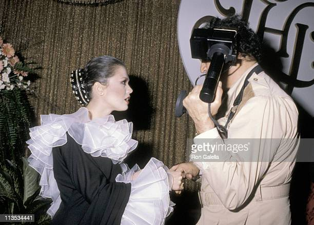 Marie Osmond and Ron Galella during 1979 Ladies Home Journal Women of The Year Award at Ladies Home Journal Building in New York City New York United...