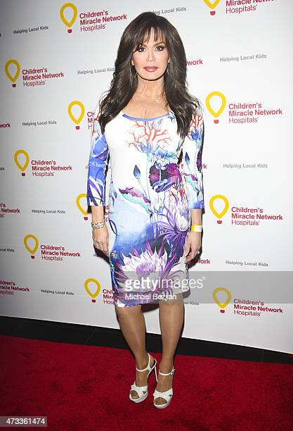 Marie Osmond arrives at Marie Osmond hosts The Storybook Suite to Benefit Children's Miracle Network Hospitals at Avalon on May 14 2015 in Hollywood...