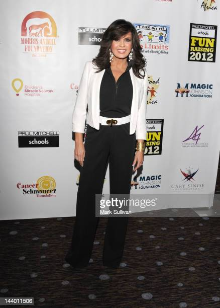 Marie Osmond attends Paul Mitchell's 9th Annual Fundraiser at The Beverly Hilton Hotel on May 7 2012 in Beverly Hills California