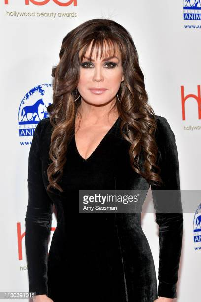 Marie Osmond attends the 2019 Hollywood Beauty Awards at Avalon Hollywood on February 17 2019 in Los Angeles California