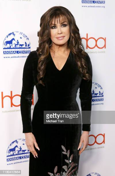 Marie Osmond attends the 2019 Hollywood Beauty Awards held at Avalon Hollywood on February 17 2019 in Los Angeles California