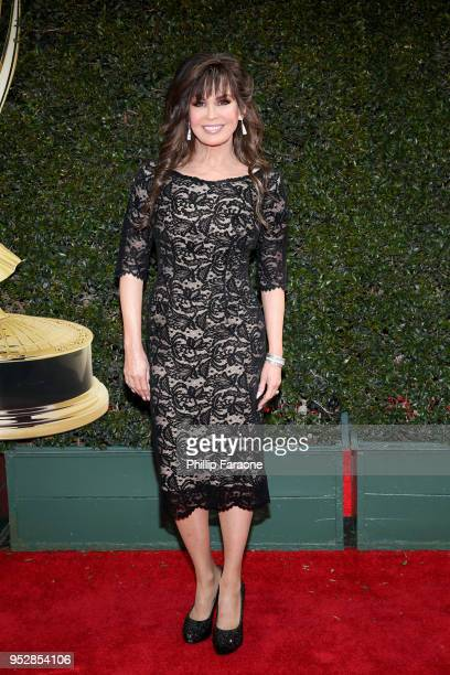 Marie Osmond attends the 45th annual Daytime Emmy Awards at Pasadena Civic Auditorium on April 29 2018 in Pasadena California