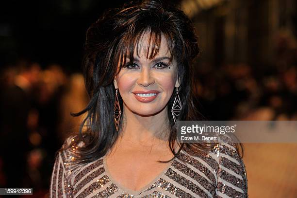Marie Osmond attends the the National Television Awards at 02 Arena on January 23 2013 in London England