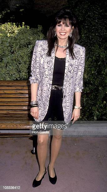 Marie Osmond during Academy of Country Music Awards Nomination at California Universal Amptheatre in Universal City CA United States