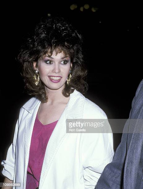 Marie Osmond during NARM Convention March 10 1986 at Century Plaza Hotel in Los Angeles California United States