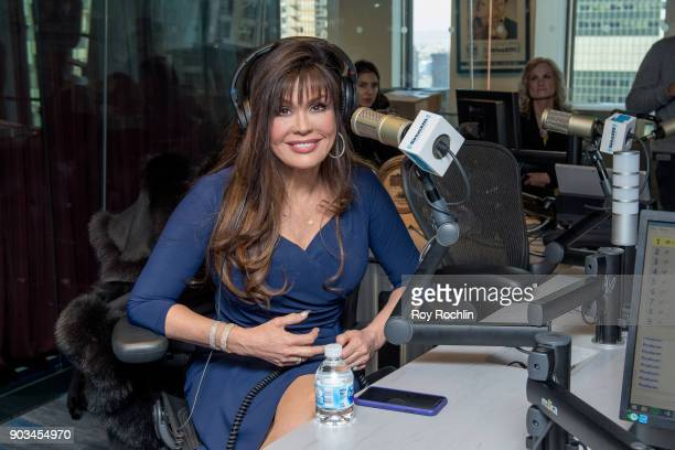 Marie Osmond visits the Andy Cohen show at SiriusXM Studios on January 10 2018 in New York City
