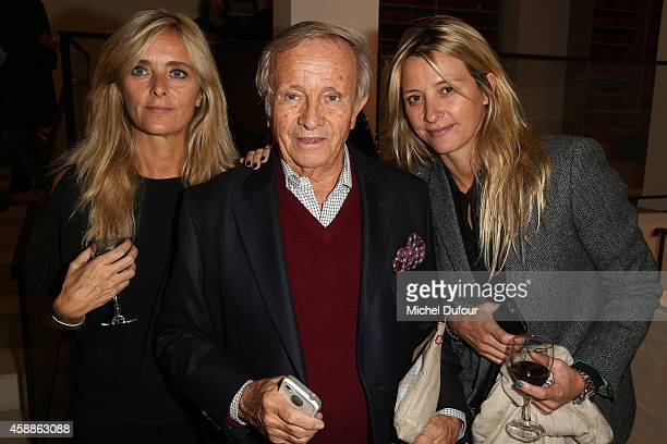 Marie Poniatowski Prince Jean Poniatowski and Sarah Poniatowski Lavoine attend the New Jewellery Collection Cocktail Party At Avenue Montaigne In...